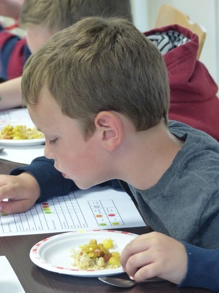Un atelier dégustation pour les enfants à l'Eparc